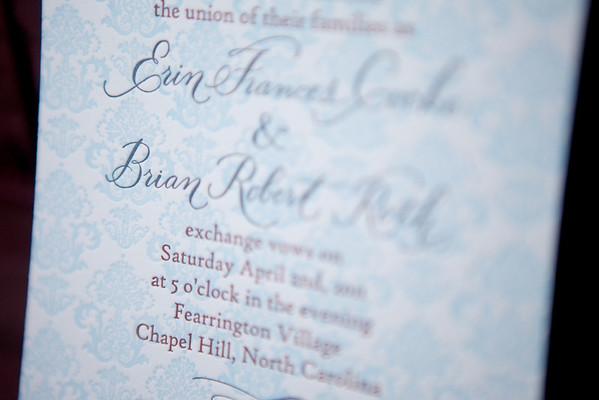 Wedding - Erin and Brian
